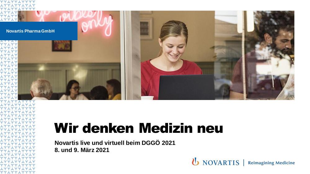 Novartis Stand